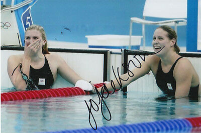 Joanne Jackson Hand Signed Great Britain 6X4 Photo Beijing 2008 1.