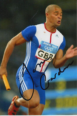 Jason Gardner Hand Signed Great Britain 6X4 Photo Athens 2004 3.