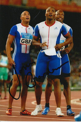 Jason Gardner Hand Signed Great Britain 6X4 Photo Athens 2004 4.