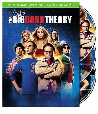 The Big Bang Theory: The Complete Seventh Season (DVD, 2014, 3-Disc Set) - NEW
