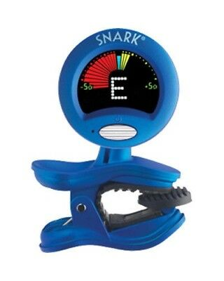 Snark SN-1X Guitar Bass Clip-On Chromatic Tuner Blue Replaces SN-1