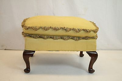 Queen Ann Ottoman Foot Stool Foot Rest Ready to Use! Circa 1920s'