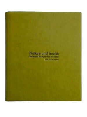 B&N NOOK Simple Touch & Glow Emerson Quote Cover Kiwi case jacket Barnes & Noble