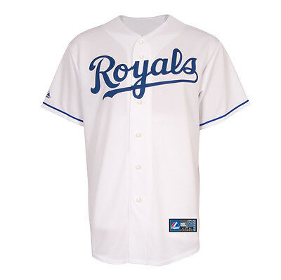 MLB Baseball Trikot Jersey KANSAS CITY ROYALS Home white von Majestic