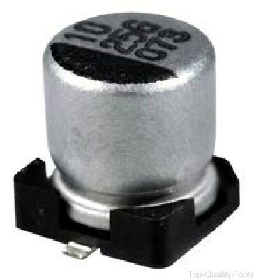 SMD Aluminium Electrolytic Capacitor, Radial Can - SMD, 47 µF, 10 V, EDK Series
