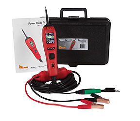 Power Probe IV Diagnostic Circuit Tester Kit Voltmeter, Hz, Pulse Width #PP401AS