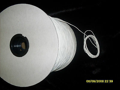10 Yards Square Braided Cotton Candle Wick 6/0