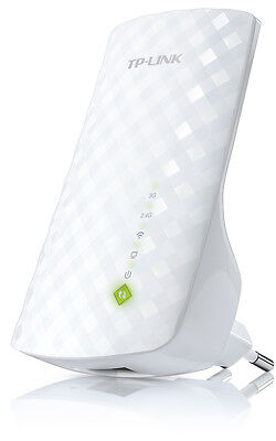 Repetidor Universal Inalambrico TP-Link RE200 WiFi AC750 Dual Band 300+450Mbps