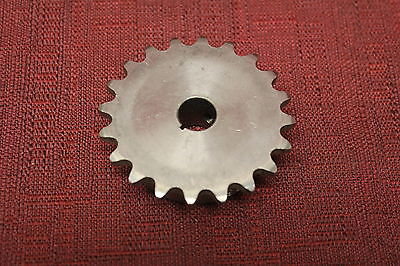 "35B20SS Sprocket Stainless Steel 1/2"" Bore Used"