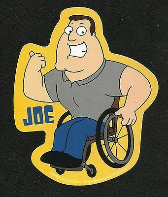 JoE SWaNSoN - FAMiLY GuY - LiCENSeD DECAL STICKER