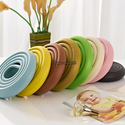 2M Kids Softy Safety Table Corner Softener Edge Cushion Strip Guard Protector