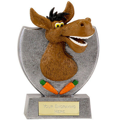 Comical Solid Resin Eeyore Donkey Trophy Loser Golf & Rugby Donkey Award A1644