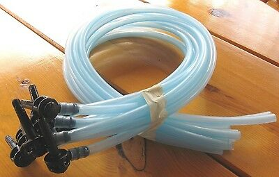 "10 NEW Maple Taps/Spouts SETS (10) 48""Hoses 5/16""Tree Saver Spiles*FREE SHIPPING"