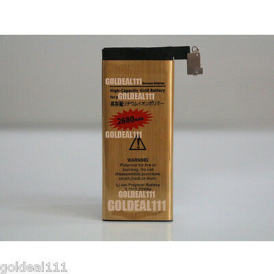 NEW High Capacity 2680mAh Replacement Gold Battery for Apple iPhone 4 4G