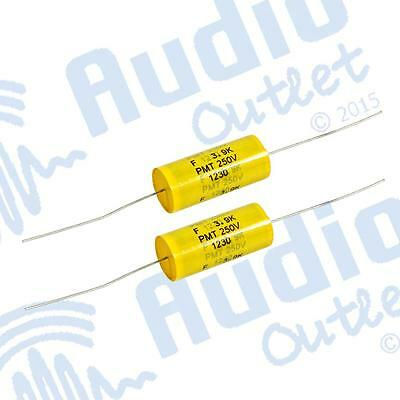 Pack of 2 Polypropylene Capacitors 250v 3.9uf – Loud Speakers & Cross overs xove