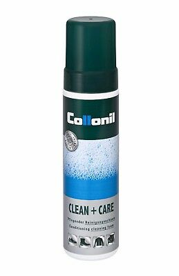 Collonil Clean & Care Cleaning Foam Leather Nubuck Suede Textile Cleaner