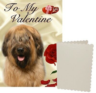 Briard Dog C5 Valentines Day Card Design VBRIARD-1 by paws2print