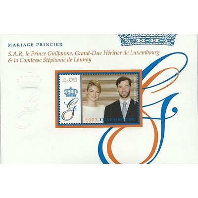 Luxembourg 2012 - Royal Wedding Royalty Prince Guillaume - MNH