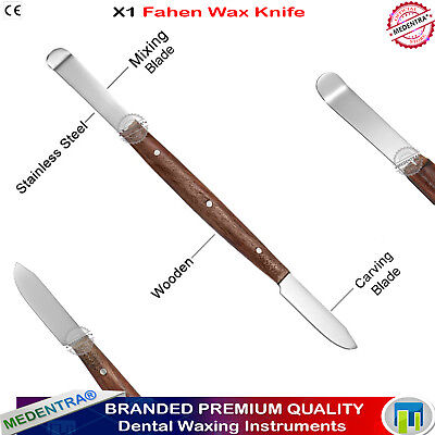 Laboratory Mixing Wax Knife Tools for Dental Lab Technicians Alginate Spatulas