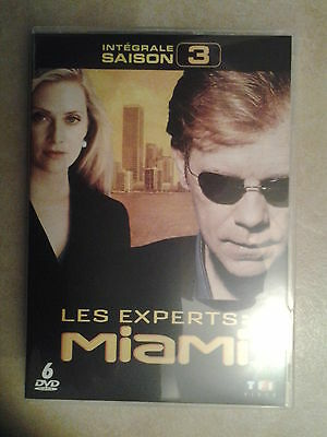19126//Les Experts Miami Integrale Saison 3  /24 Episodes Neuf Sans Blister