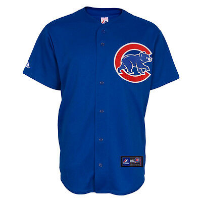 MLB Baseball Trikot Jersey CHICAGO CUBS Home blau von Majestic