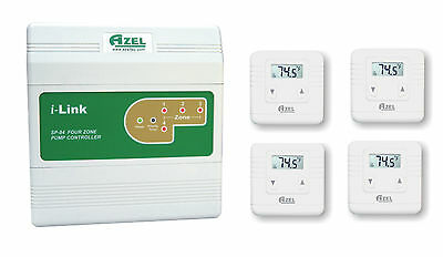 Package Deal: SP-84 with 4 units of D-135E Digital Thermostats