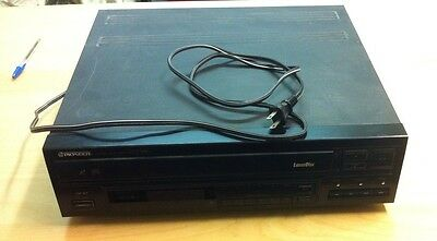 Vintage Pioneer Laser Disc Player CD CDV LD Video Player ONLY Model: CLD-990