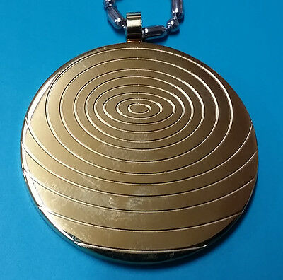 Gold Titanium Energy Pendant, with Magnets and Germanium Ion Stone - KSP026