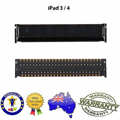 for iPad 3 / 4 - LCD FPC Connector Onboard - NEW Replacement Repair Part