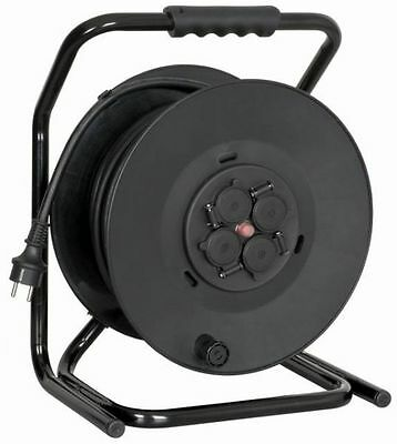 Cable reel with 30m rubber cable 3x2,5mm²