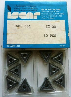 ISCAR TNMP 331 IC 20 Carbide Inserts 10 Pcs NEW Turning Milling Tools Lathe