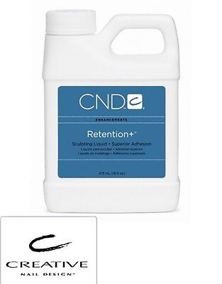 CND CREATIVE NAIL DESIGN RETENTION + liquid 16OZ SEALED