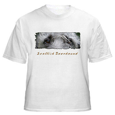 "Scottish  Deerhound  "" The Eyes  Have It ""  T shirt"