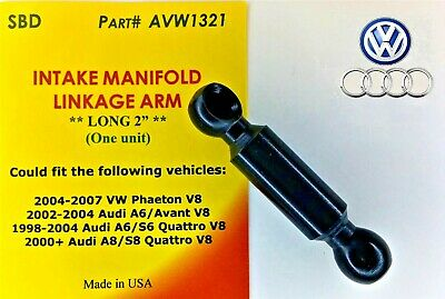 "High Quality Audi Vw Intake Manifold Linkage Arm Long 2""  One Unit 077198327A"