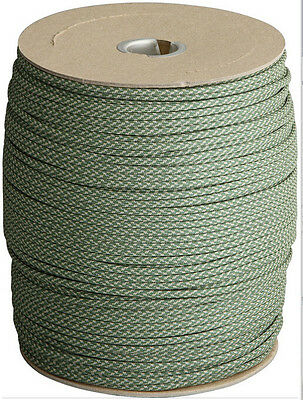 PARACORD 550LB Type III USA made multiple color options in continuous length