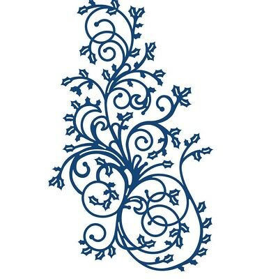 CLEARANCE SALE! New Tattered Lace 'HOLLY FLOURISH' Die - D409 Grab a BARGAIN!