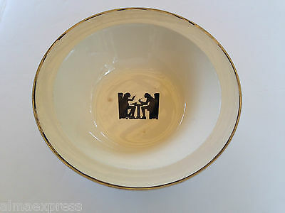 "TST Co Taylor Smith & Taylor HALL Silhouette TAVERN Taverne 8-3/4"" Serving Bowl"