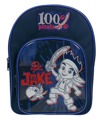Jake and the Neverland Pirates | 100% Pirate School Bag | Backpack | Rucksack