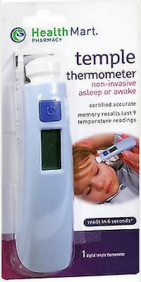 Digital Temple Thermometer - Last 9 Reading Memory - Fast & Certified Accurate