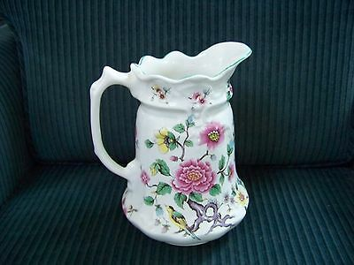 Antique Old Foley James Kent Chinese Rose Chintz Pitcher