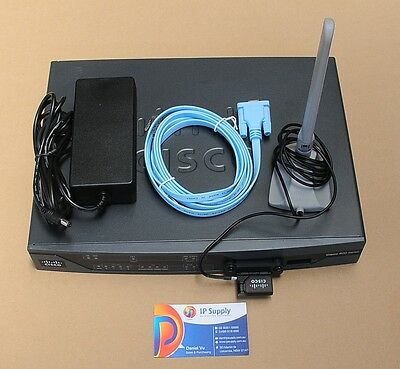 CISCO881G-G-K9 Router with PCEX-3G-HSPA-G 6 Month Warranty Tax Invoice Q'ty Avai