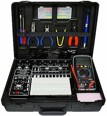 Elenco Xk-550T Analog Digital Trainer In A Case Fully Assembled With Tools