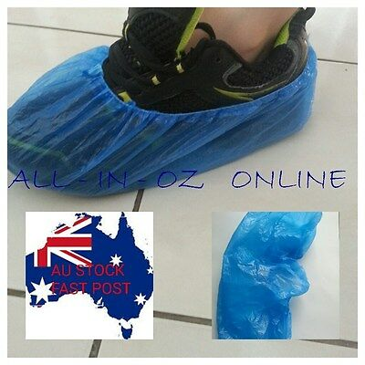 20 Pairs 40 Disposable Shoe Covers Socks Carpet Cleaning Medical Hygiene