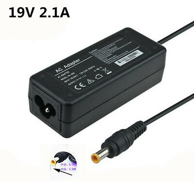 19V 2.1A 40W Power Supply Adapter Charger For Samsung Notebook Laptop Computer