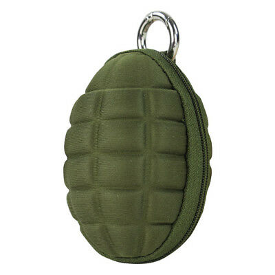 Condor Grenade Pouch Key Ring Military Hiking Travel Small Carry Pack Olive Drab