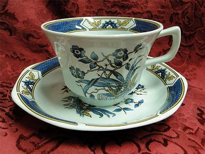 Adams Ming Toi, Calyxware, Celadon: Cup & Saucer Set (s) As Is with Crazing