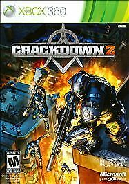 Crackdown Crack Down 2 XBOX 360 COMPLETE WORKS