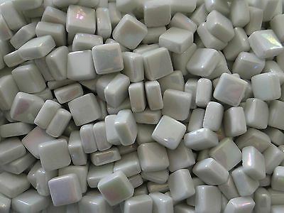 100g Square Opus 01 SP White Pearl 12mm x 12mm x 5.5mm Mosaic Tile