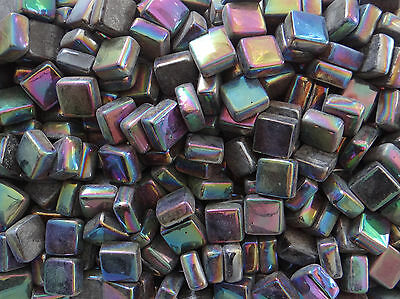100g Square Opus 09 SP Black Pearl 12mm x 12mm x 5.5mm Mosaic Tile