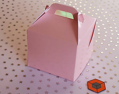 30  PINK 💕~~ Single Cupcake ~~ boxes *Star Buy * with Insert/holder 80 x 80 mm